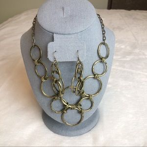 Premier Designs Madrid Necklace and Earrings Set